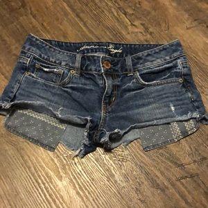 American Eagle Cutoff Jean Shorts